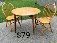 Table and Two Chairs *Delivery Available* Hamilton, L9H 5N7