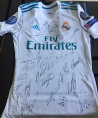 Real madrid jersey signed by all team Madrid, 28009