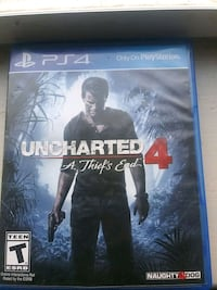 Sony PS4 Uncharted 4 A Thief's End case Baltimore, 21223