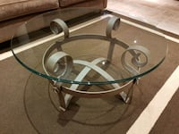 Glass iron coffee table Vaughan, L6A 3X8
