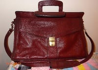 Woman's Leather Briefcase CHICAGO