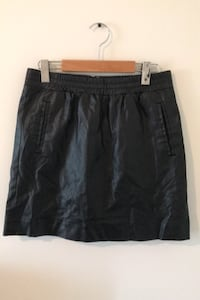 LOFT Faux Leather Skirt - Size Small