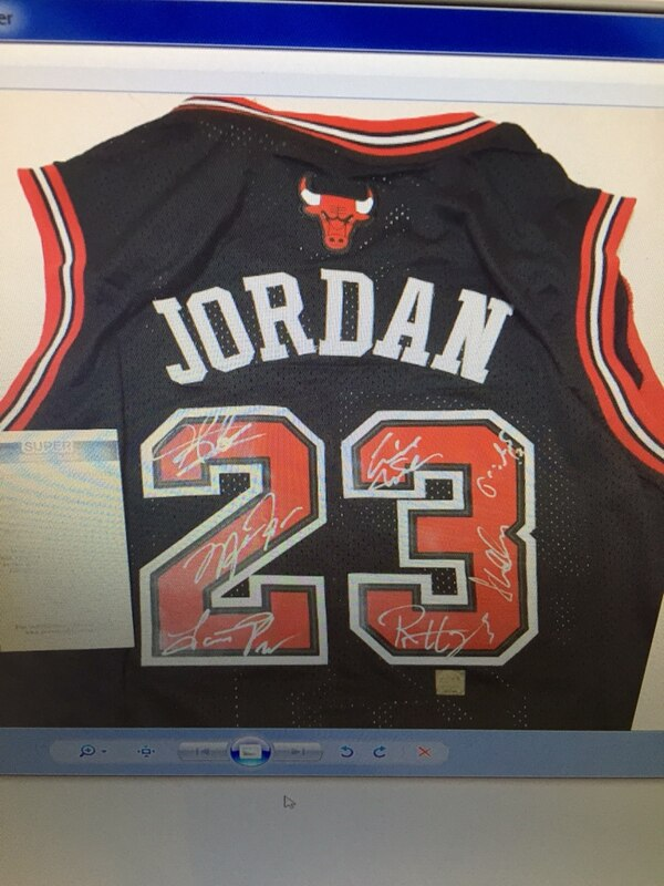 c66d3f2c212d61 Used red and black Michael Jordan 23 Chicago Bulls jersey shirt for sale in Centre  Wellington - letgo