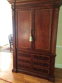 Brown wooden cabinet with drawer Virginia Beach, 23452