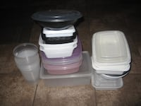 Plastic Container Lot