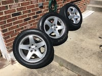 All four 17' charger rims with good tires. Dodge center caps come with them Upper Marlboro, 20772