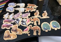 Magnetic animal collection
