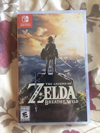 Legend of Zelda Breath of the Wild for Nintendo Switch UNOPENED Richmond, V7E 1G9