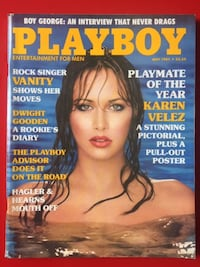 Playboy magazine - May 1985 Montréal