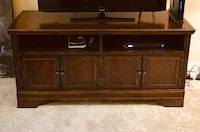 brown wooden media console/dining room sideboard  Fairfax Station, 22039