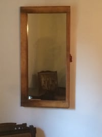 brown wooden framed wall mirror Niagara-on-the-Lake, L0S