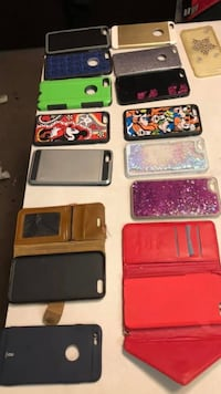 iPhone 6 6s 7 7plus cases if you want all $40