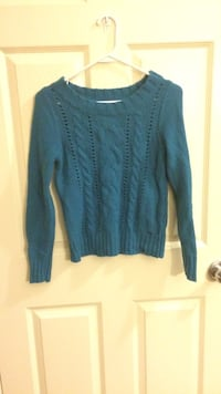 Dark Blue knit sweater Calgary, T3K 0G4