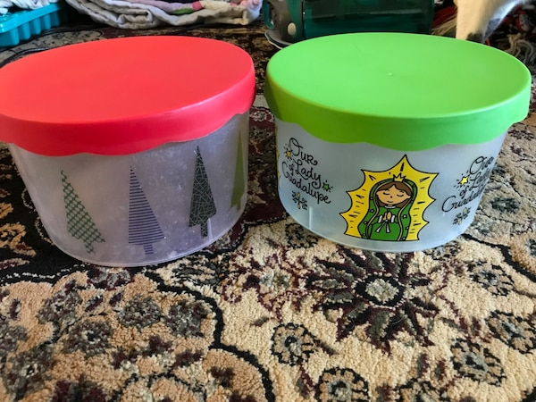 Our lady of Guadalupe Tupperware