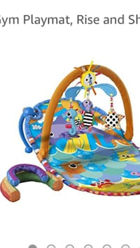 Play Mat/Activity Center by Lamaze!!! MINT condition Vaughan