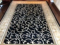 Black and white area rug Mississauga, L5J 1R2