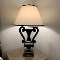 Beautiful Black and White Lamp CHICAGO