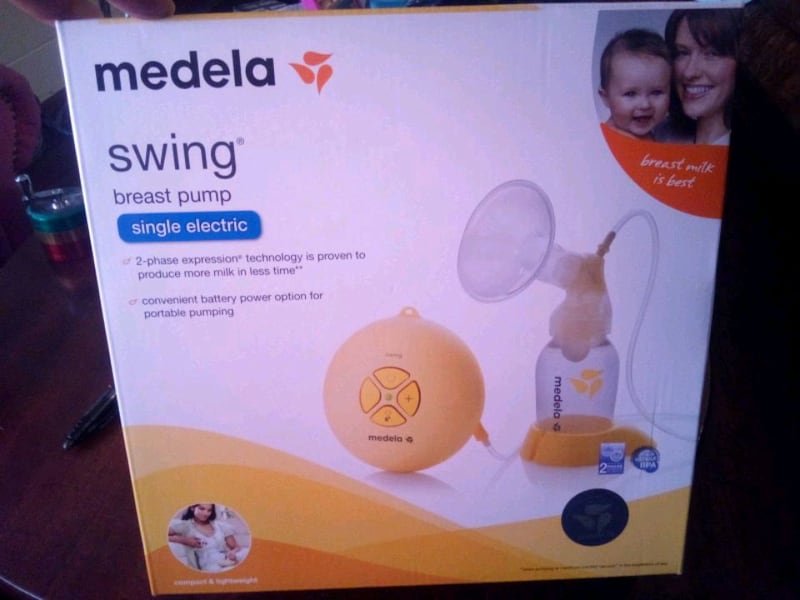 Used Medela Swing Single Electric Breast Pump For Sale In Winter