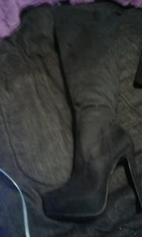 Size 8.5 thigh high boots Kitchener