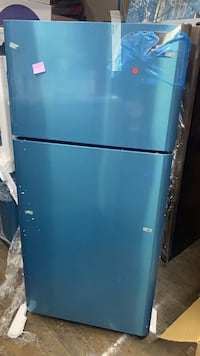 Frigidaire Top Freezer Refrigerator in stainless steel