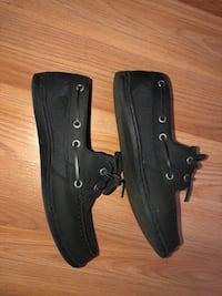 Black sperrys size 7 woman's  Manassas, 20112