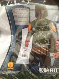 New - Boba Fett Costume Men Size Large 38 km