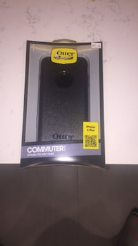 black OtterBox Commuter series for iPhone 6 Plus bpox