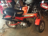 1981 Honda trail 70/ only 656 original miles tags are payed street legal  Ontario, 91761