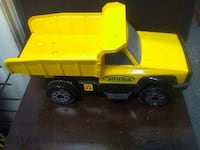yellow and black Tonka dump truck toy Montréal, H8R 1E2