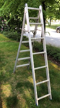 gray and white A-frame ladder North Vancouver, V7H