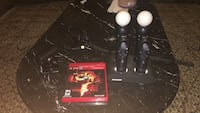 Ps3 eye, ps3 move, and game Silver Spring, 20902