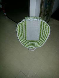 Woven plastic laundry basket paid $40 Alexandria, 22315