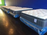 Brand New With Warranty Queen Pillowtop Mattresses with Boxspring Nashville
