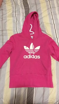 red and white Adidas pullover hoodie Kitchener, N2H 4V9