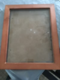 Wood picture frame with glass front  Laval, H7K 3P5