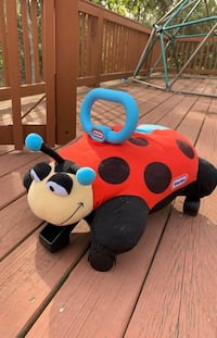Little tikes ladybug ride on toy