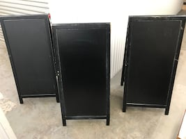 Wooden Sandwich Boards x 3