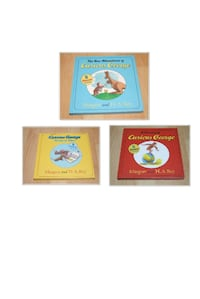 Curious George storybook collections (hard covers)