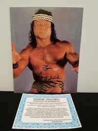 WWE Superstar Signed 8X10 Photos Snuka, Angle, and X-Pac - All Certified