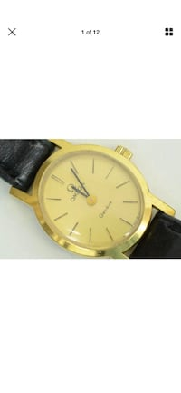 Omega Geneve ladies70s  17 jewel 620 calibre watch New Westminster, V3M 1S8