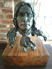 Weitzman Bronze Sculpture CHIEF NIWOT - Arapaho Arlington, 22207