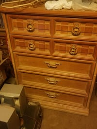 cabinets and dresser chest of drawers