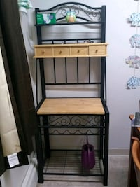 Moving Sell! Baker's Rack w/wine rack for up to 5! Anchorage, 99502