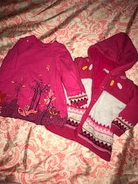 Two pink long-sleeved shirt and button-up jacket Liverpool, L9 1AS