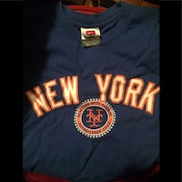 blue New-York crew-neck t-shirt