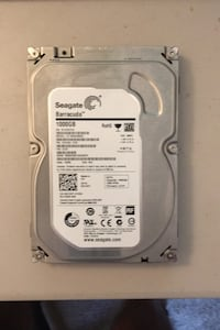 1TB desktop hard drive, FLAWLESS Hamden, 06514