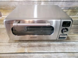"""Sharp SSC0586DS 20"""" Superheated Steam Countertop Oven - Stainless Stee"""