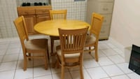 Table Dinnet - Pecan -W/4 chairs Bowie, 20720