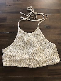 women's white and black tank top Bakersfield, 93307