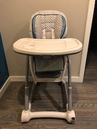 One or two child adjustable highchair/booster Falls Church, 22044